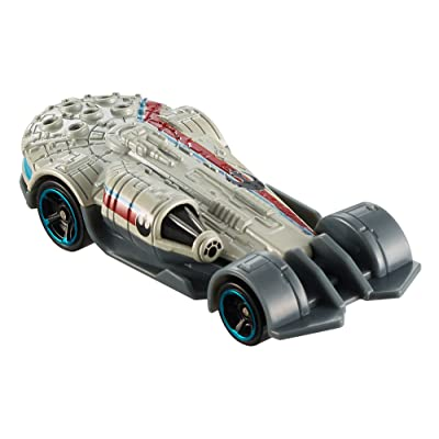 Hot Wheels Star Wars Millennium Falcon Carship Vehicle: Toys & Games