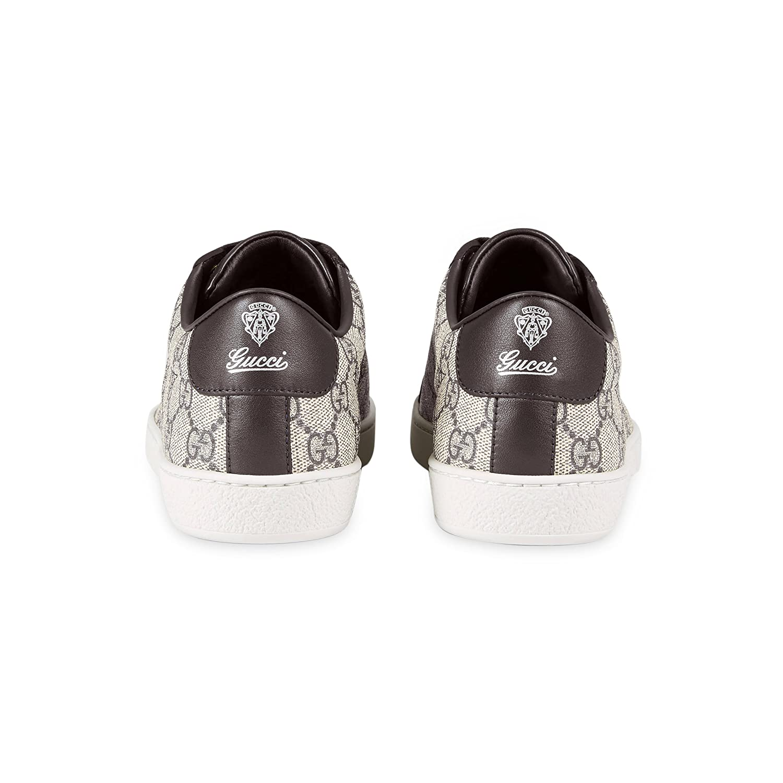 c10b4277df9 Amazon.com  Gucci Women s GG Supreme Canvas Trainer Sneaker