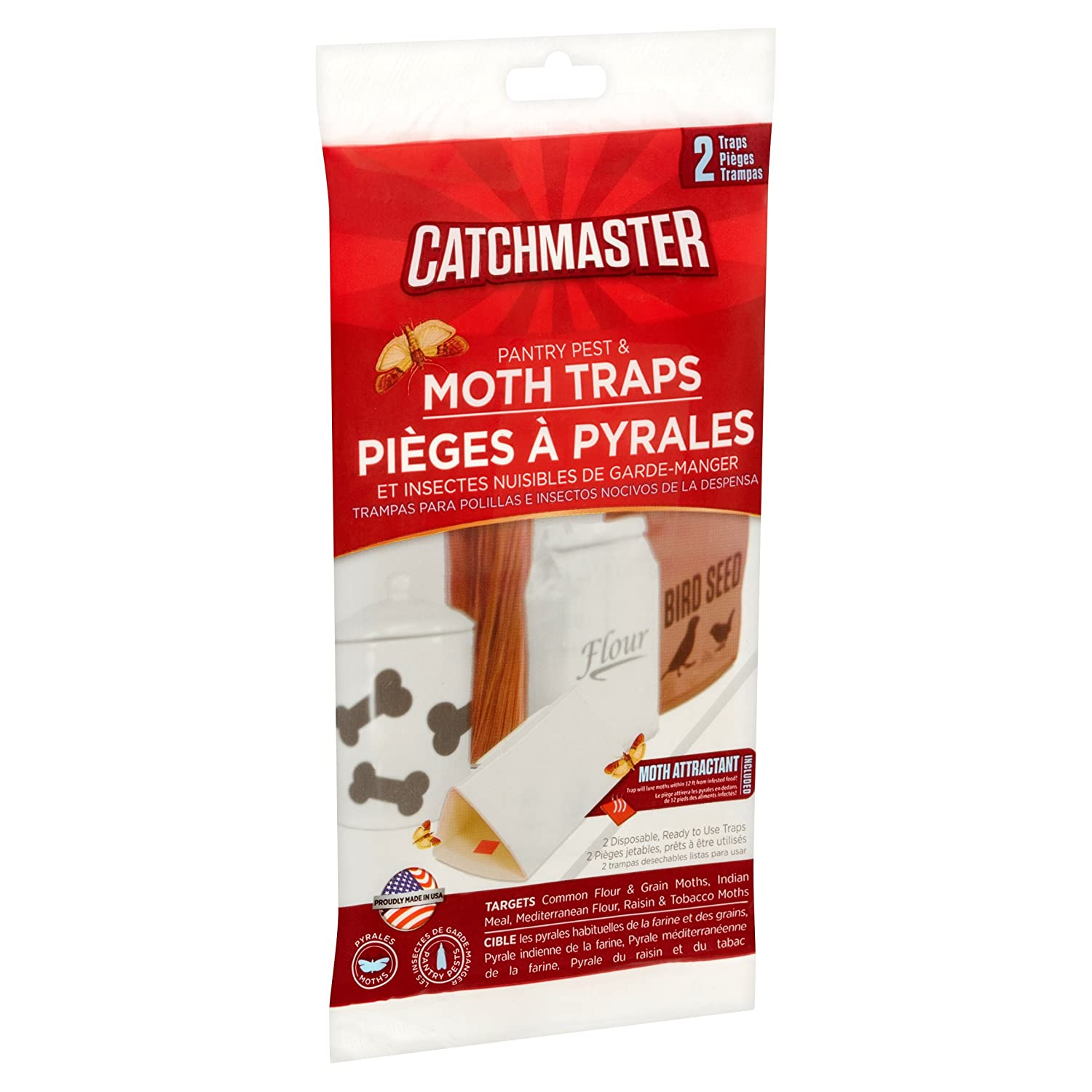 Amazon.com : Catchmaster 100% Safe Heavy Duty Baited Rat Glue Traps : Garden & Outdoor