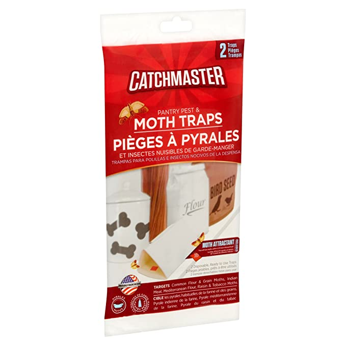 Amazon.com : MADE IN USA : Catchmaster 100% Safe Home Pest Control Traps (Pre-Baited Mouse & Insect Glue Boards, 4 Traps) : Garden & Outdoor