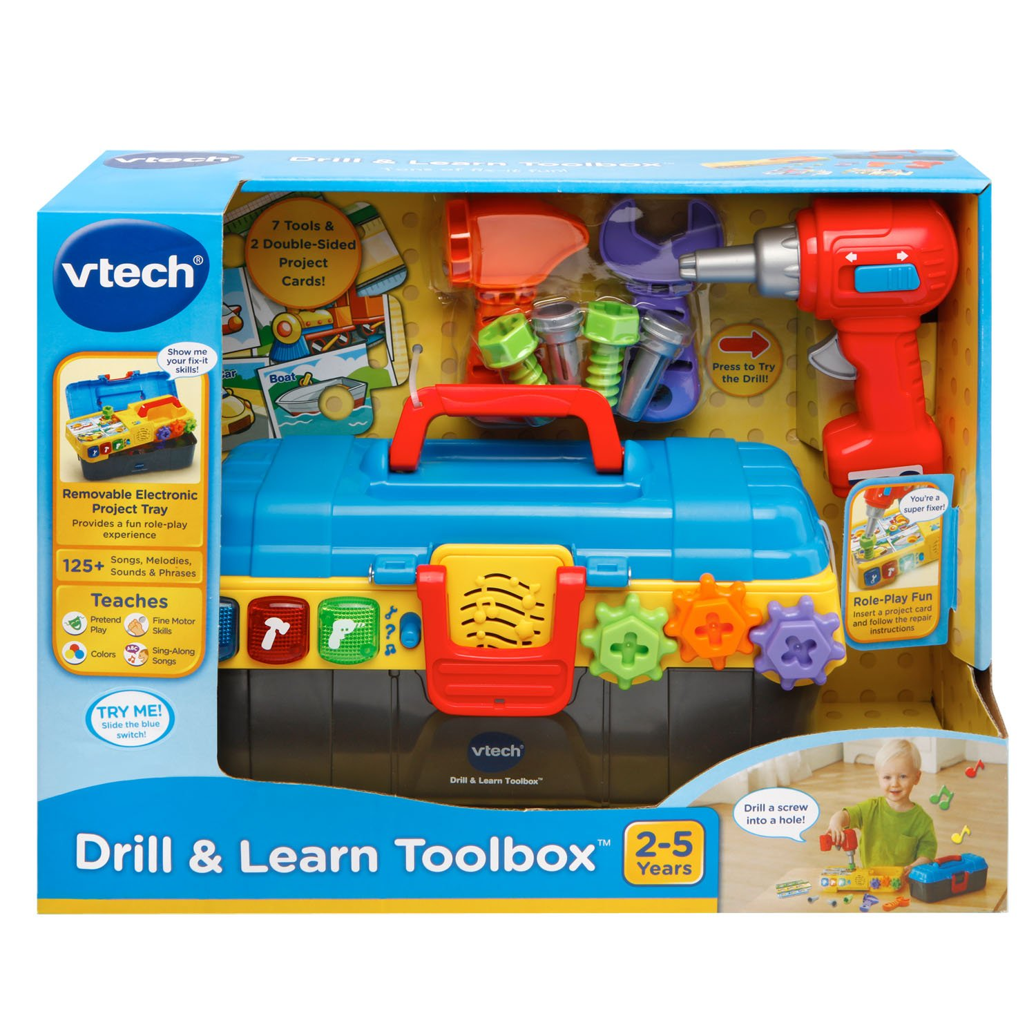 VTech Drill and Learn Toolbox Amazon Toys & Games