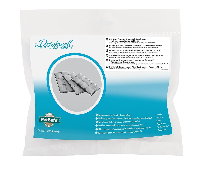 Petsafe Drinkwell filtro di sostituzione delle cartucce (3 Pack) PETLR RF6C-INTL-19