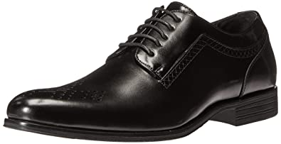 Stacy Adams Men's Somerton Plain-Toe Lace-up Oxford, Black, ...