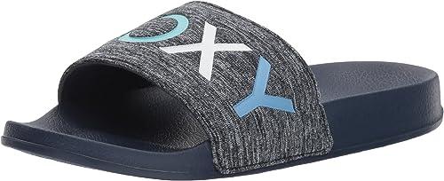 RoxyARJL100718 - Zapatillas sin talón con Banda de Tela para Mujer ...