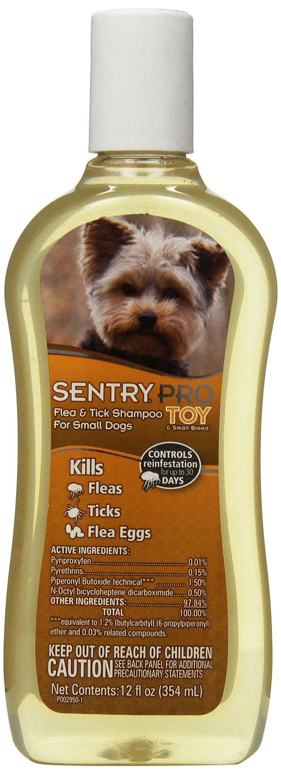 SENTRY PRO Toy Breed Flea and Tick Shampoo, 12 oz