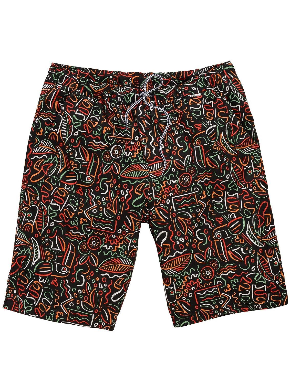 Cleptomanicx Men's Swimming Shorts Multicoloured Multicoloured