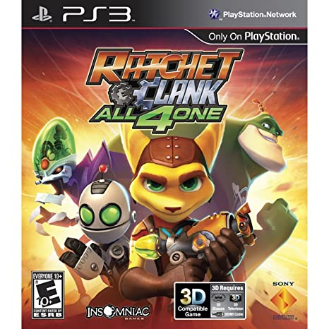Ratchet and Clank: All 4 One (Playstation 3): Amazon.es ...