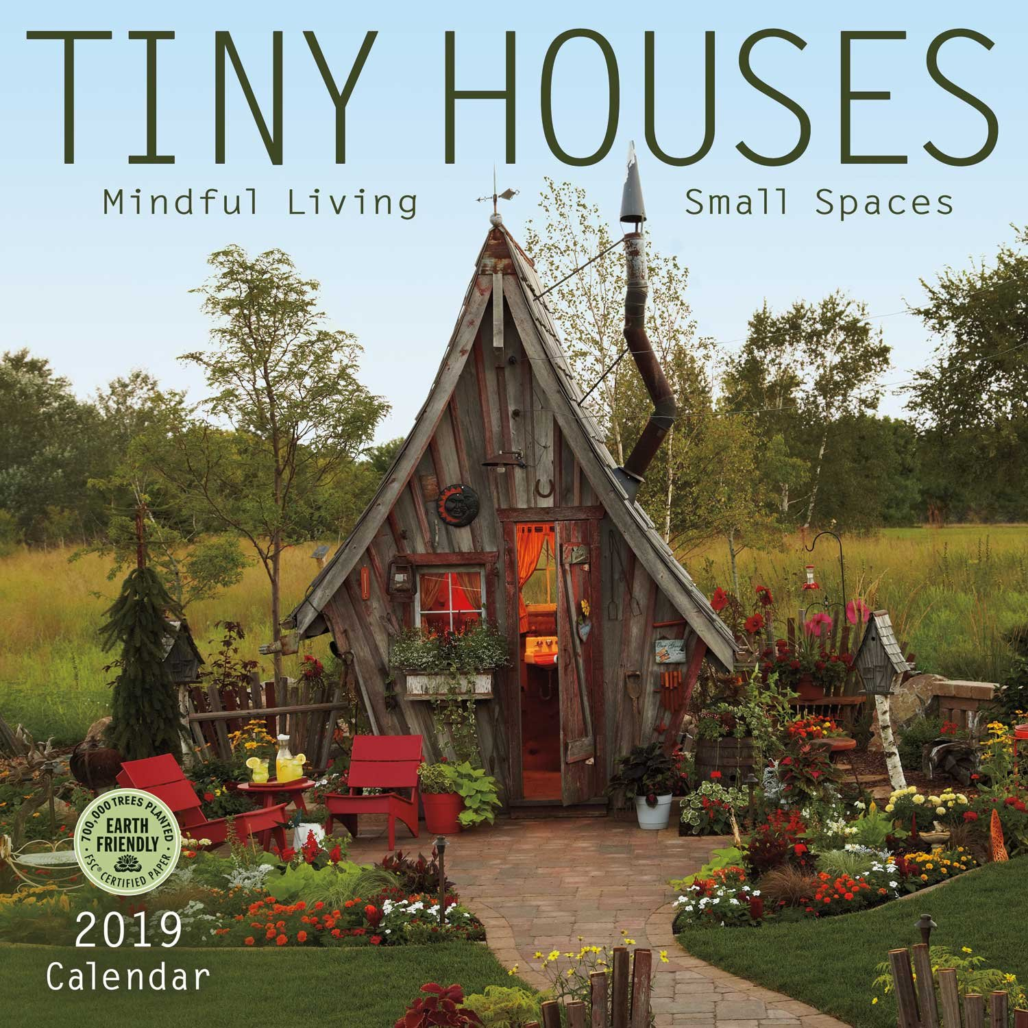 Tiny Houses 2019 Wall Calendar product image