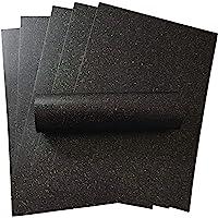 10 vellen A4 houtskool zwart Sparkle papier met iriserende Sparkle 120gsm ambachten kaart maken Kerstmis