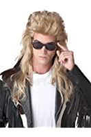California Costumes Blonde 80S Rock Mullet Wig