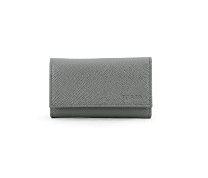 c3835a946a734d Image Unavailable. Image not available for. Color: Prada Saffiano Leather  Key Holder Wallet ...