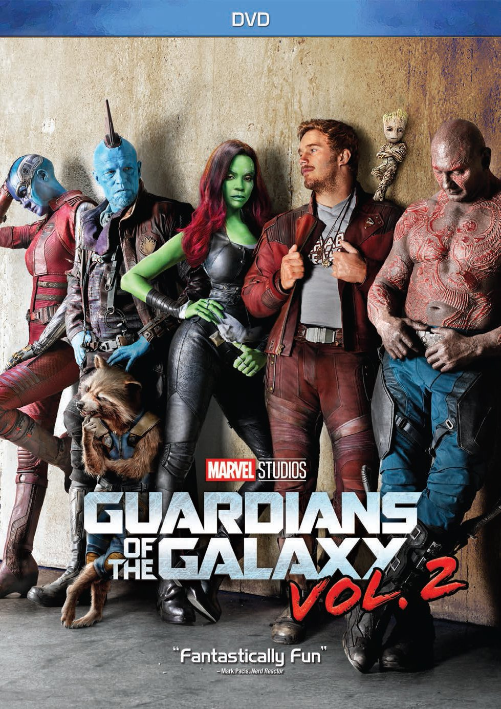 DVD : Guardians of the Galaxy, Vol. 2 (AC-3, Dubbed, , Widescreen, Dolby)