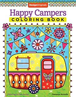 Happy Campers Coloring Book Is Fun Design Originals