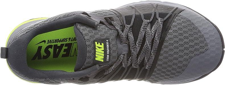 Nike Wmns Air Zoom Wildhorse 4, Zapatillas de Cross para Mujer, Gris (Gris Oscuro/Gris Lobo/Negro/Florescente 001), 38.5 EU: Amazon.es: Zapatos y complementos