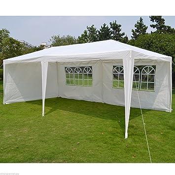 Gartenpavillon Garten Pavilon Partyzelt Gartenzelt Bierzelt Festzelt Zelt 3x4m