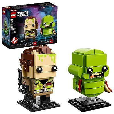 LEGO BrickHeadz Peter Venkman & Slimer 41622 Building Kit (228 Piece) ( Exclusive): Toys & Games