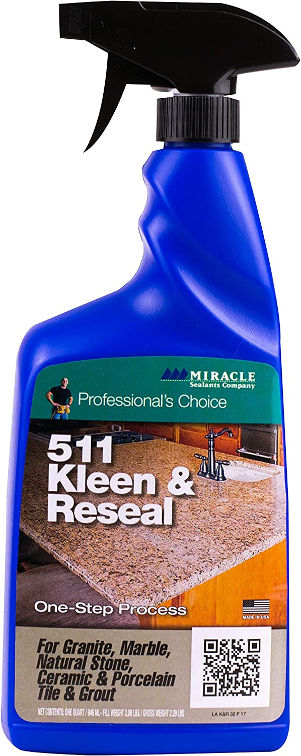 Miracle Sealants KLRE32OZ6 511 Kleen & Reseal Cleaners, 32 oz