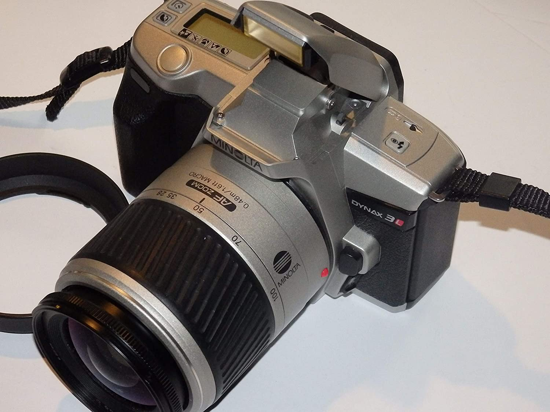 Minolta Dynax - Aparato fotográfico (3 L, incluye Minolta AF Zoom ...
