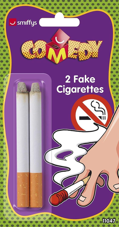 SMIFFYS Smiffy's Sigarette finte, Time 4 Fun2 per Adulti, Bianco, 11047 SMIFFYS Smiffy' s Sigarette finte