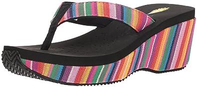 0162e947d1 Amazon.com: VOLATILE Women's Beloved Wedge Sandal: Shoes