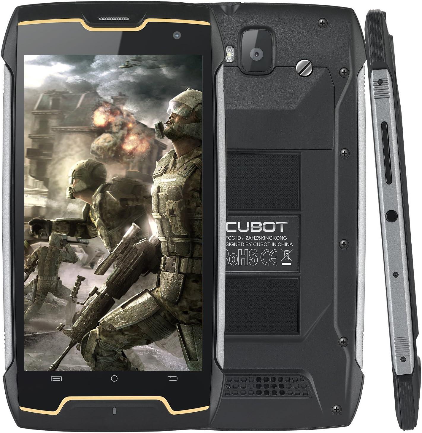CUBOT Smartphone X18 & X18 PLUS & KINGKONG (KINGKONG-Negro ...