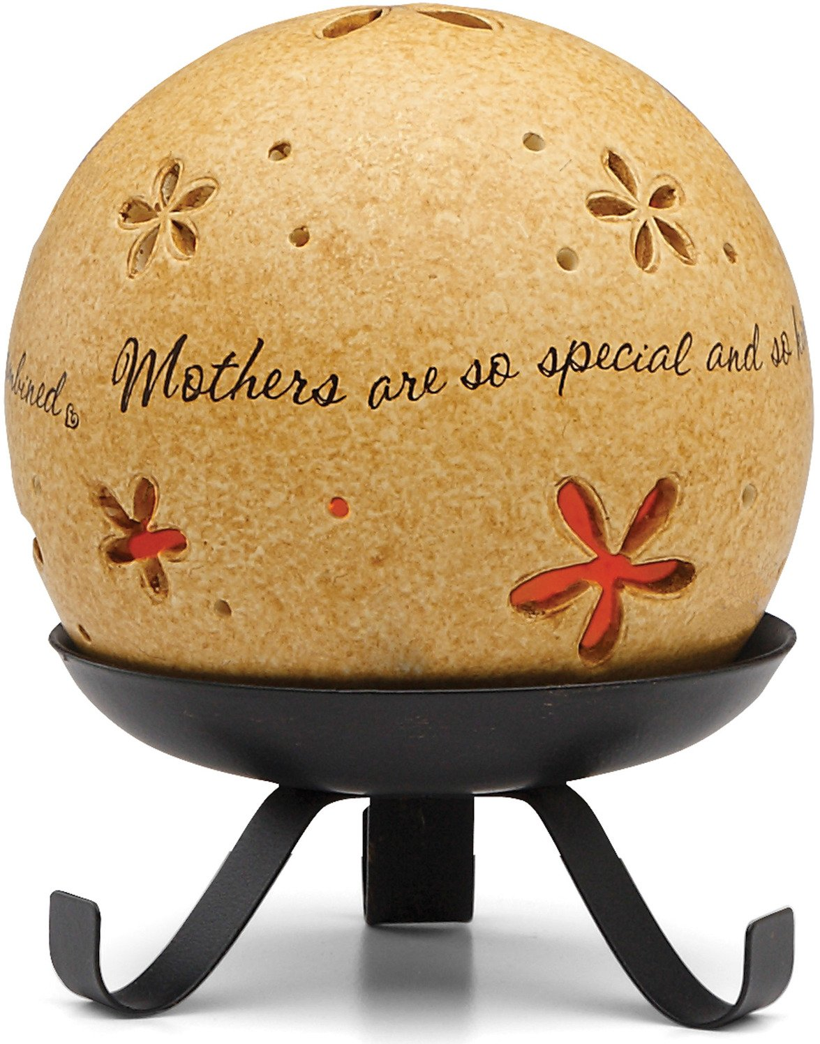 Comfort Candles Mother by Pavilion Tea Light Candle and Stand, 5-1/2-Inch, Round Pavilion Gift Company 05867