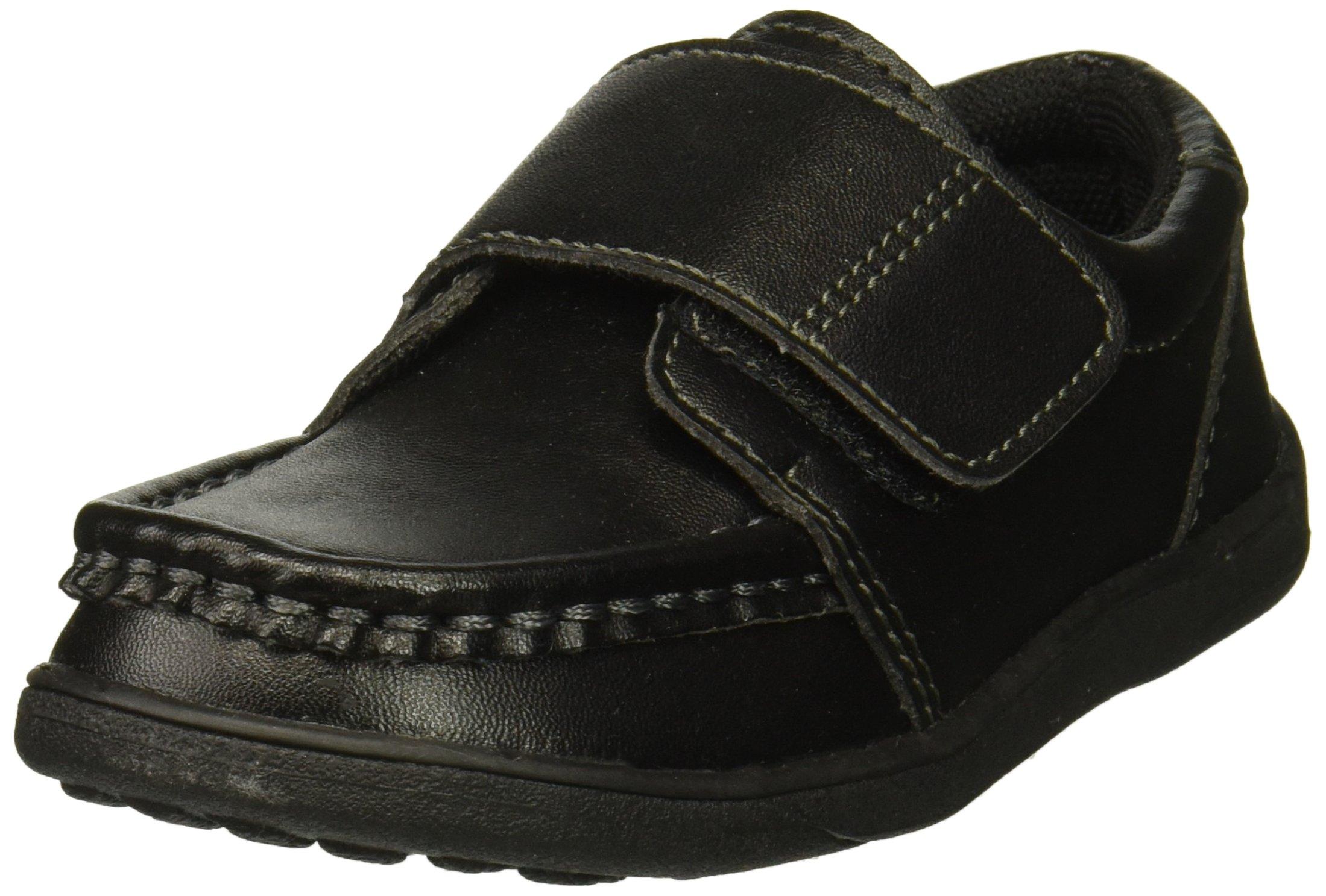 See Kai Run Boys' Ross II School Uniform Shoe, Black, 3Y M US Little Kid
