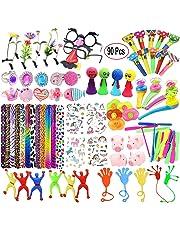 Mattelsen Juguetes de Fiesta a Granel 90 Pcs para Rellenar Piñatas y Bolsas de Regalo de Fiestas de Cumpleaños Infantiles del Partido Favor Niñas Infantiles niños o para el Colegio