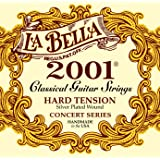 La Bella 2001 Series Classical Guitar Strings Hard Tension