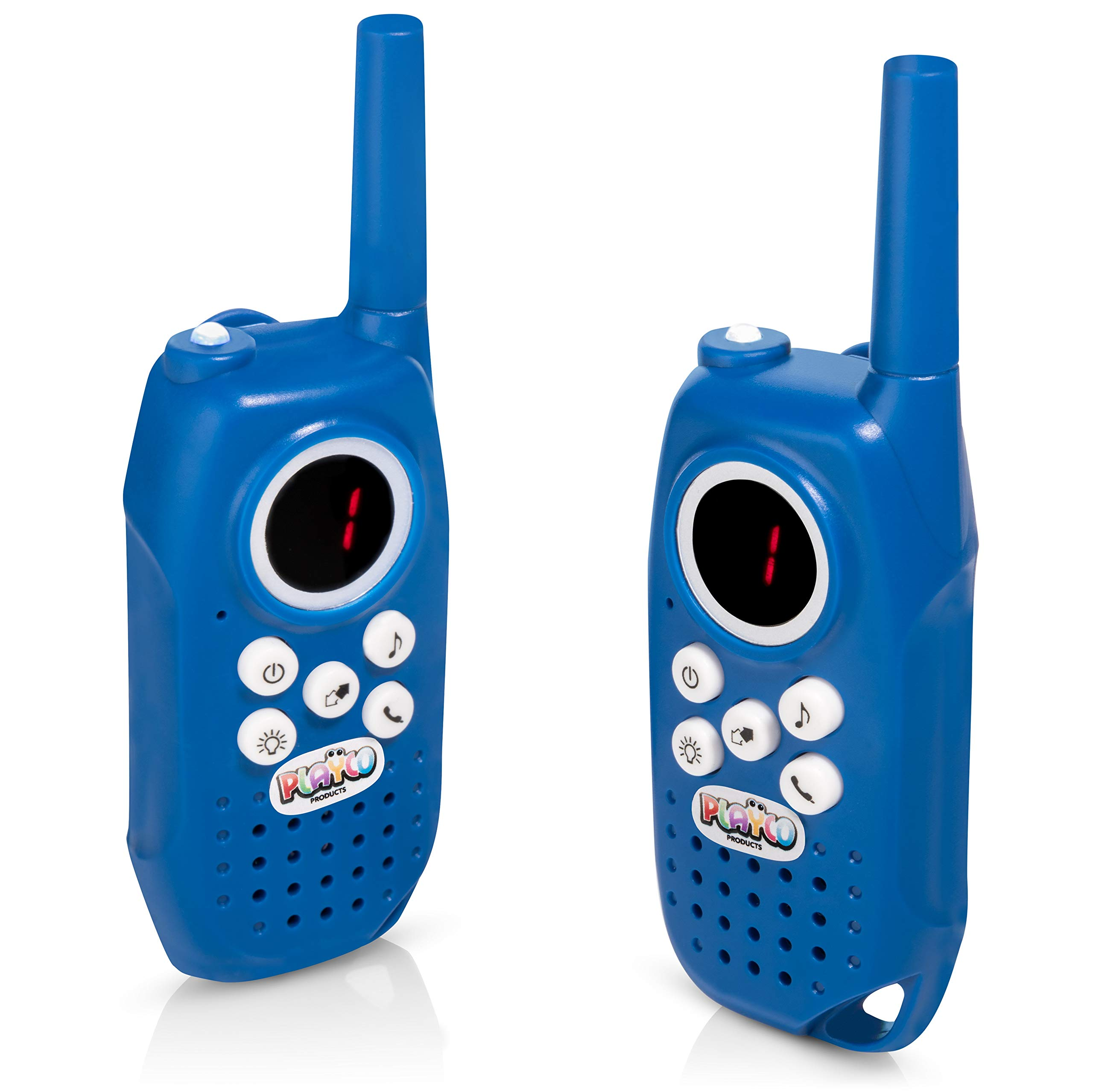 489c4f2c3071ed Playco Products Walkie Talkies for Kids - 2 Mile Range, Crystal Clear  Sound, Flashlight, Belt Clip - Keep it Simple with Our Easy to Learn 3  Channel Design
