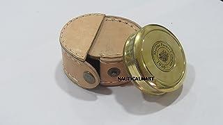 Robert Frost Brass Poem Compass w/case by NAUTICALMART