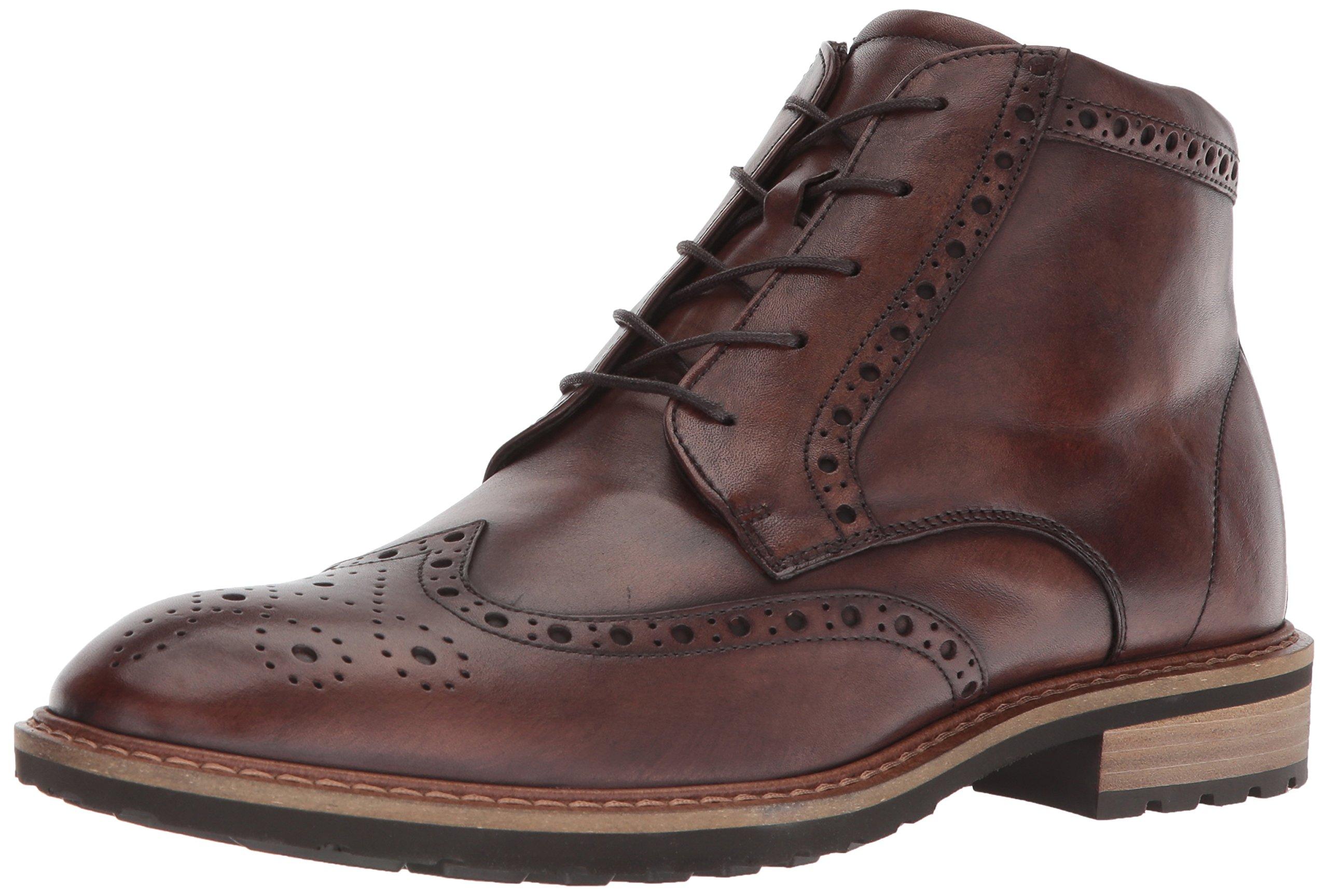 ECCO Men's Vitrus I Tie Oxford Boot, Nature Wingtip, 43 M EU (9-9.5 US)
