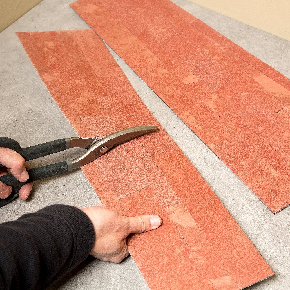 - Easy DIY Tile Backsplash 5.9 x 23.6 x 1//8 Panel - Approx. 1 sq ft Autumn Sandstone Aspect Peel and Stick Stone Overlay Kitchen Backsplash