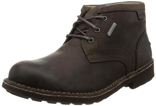 Clarks Lawes Mid GTX, Botines para Hombre: Amazon.es: Zapatos y complementos