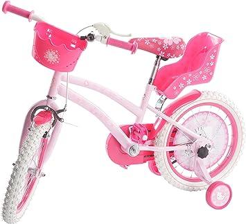 Avigo - Bicicleta Hello Kitty 16: Amazon.es: Juguetes y juegos