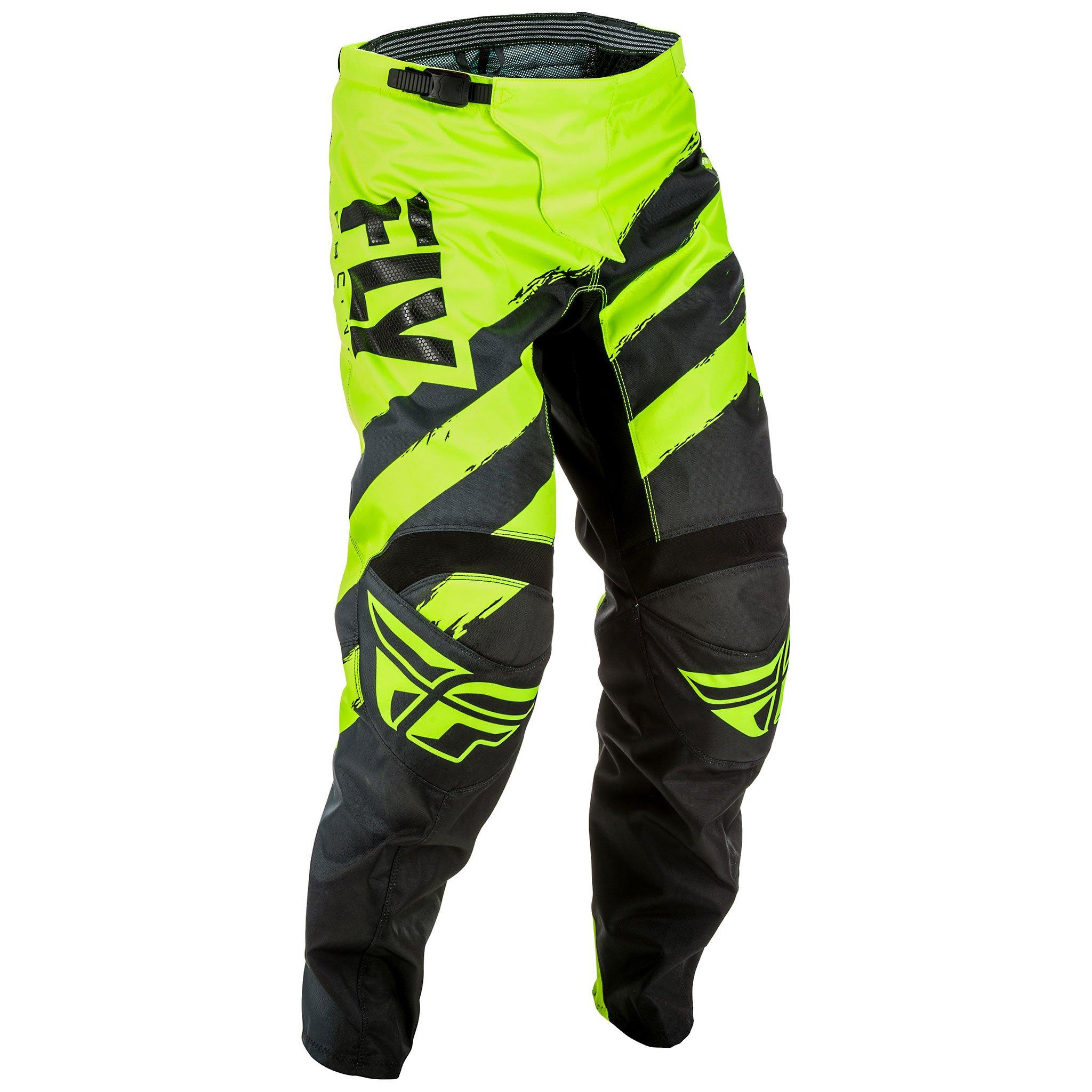Fly Racing Men's Pants (Black/Hi-Vis, Size 36)