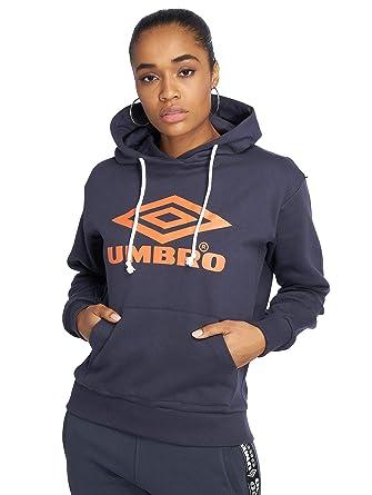 Umbro Damen Hoodies Logo blau XS: : Bekleidung