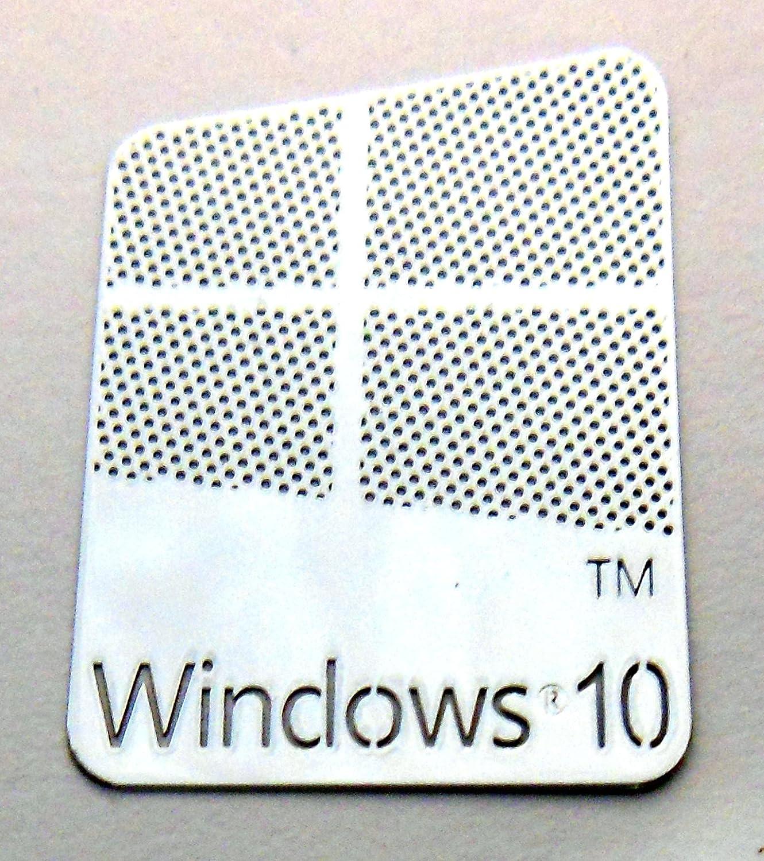 Microsoft Windows 10 Metal Sticker 16 x 23mm [882] VATH