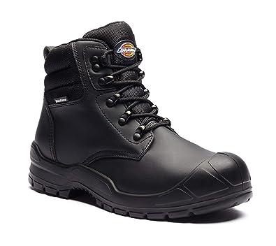 Botas de seguridad Dickies fa9007 BK 3 Trenton, piel, tamaño 3, color negro