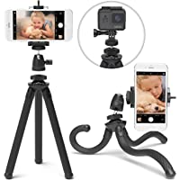 Xenvo SquidGrip Flexible Cell Phone Tripod and Portable Action Camera Holder - Compatible with iPhone, GoPro, Android…