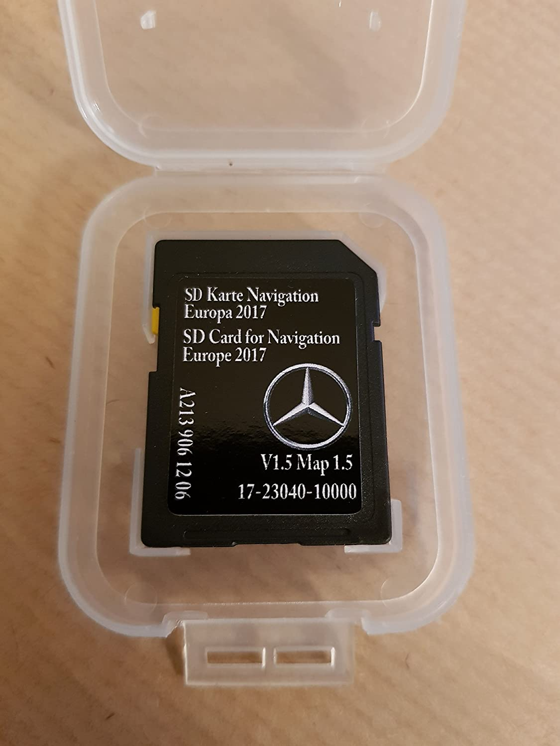 SD CARD GPS MERCEDES - w213 Classe E - NTG5.5 - Europe 2017 v1.5 - A2139061206