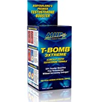 MHP Clinical Strength T-Bomb 3xtreme, Five-Phase Hormone Optimizing Complex, Testosterone Booster for Men 168 Count