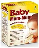 Baby Mum-Mum Banana Flavour Premium Rice Rusks, 36g