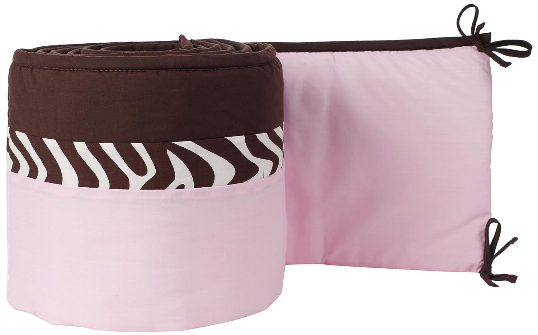 Pam Grace Creations Crib Bumper, Zara Zebra BP-ZARA