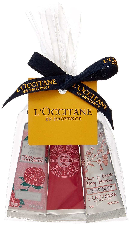 ロクシタン(L'OCCITANE) フラワーミニハンドクリーム トリオ10ml