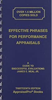 Performance Appraisal Phrase Book The Best Words Phrases and