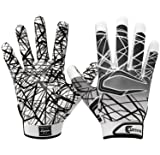 Cutters Game Day No Slip Football Gloves, Youth and