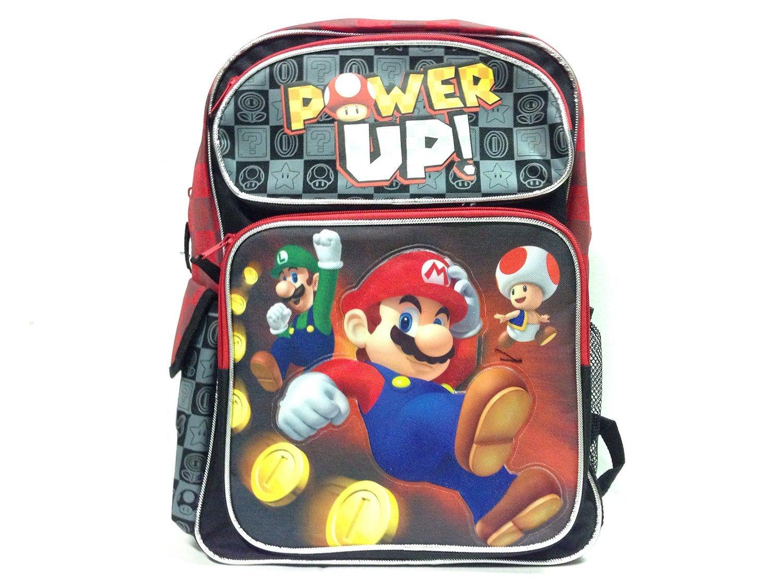 Backpack - Nintendo - Super Mario Black Power Up 16