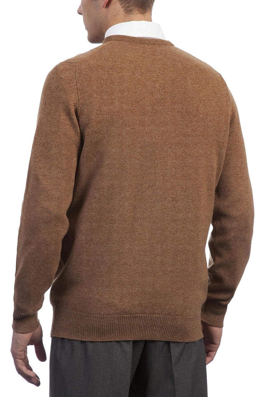 Hawick Knitwear Mens 100/% Lambswool Plain Crew Neck Pullover