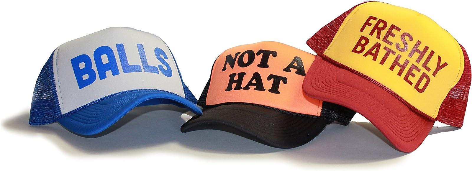 5bb4bbe5f58bb Funny Trucker Cap 30 Rock show Frank Rossitano Judah Friedlander Hat (3  PACK (all